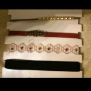 Jewelry - Lot of 4 Brand New Choker Necklaces